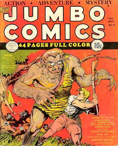 Cover for Jumbo Comics (1938 series) #9