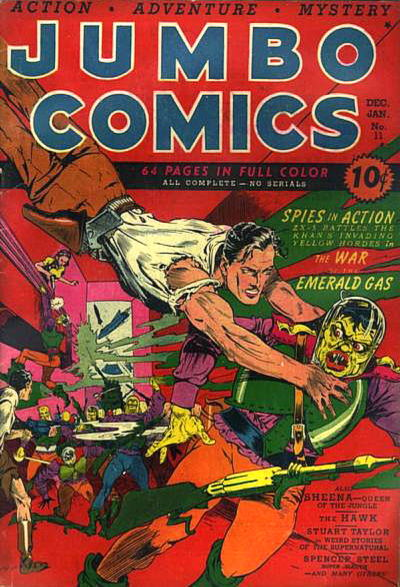 Cover for Jumbo Comics (1938 series) #11