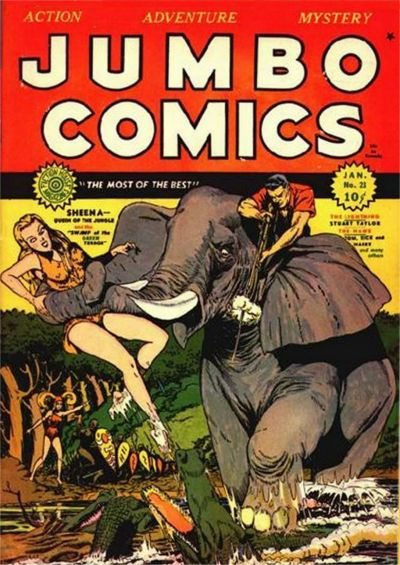 Cover for Jumbo Comics (1938 series) #23