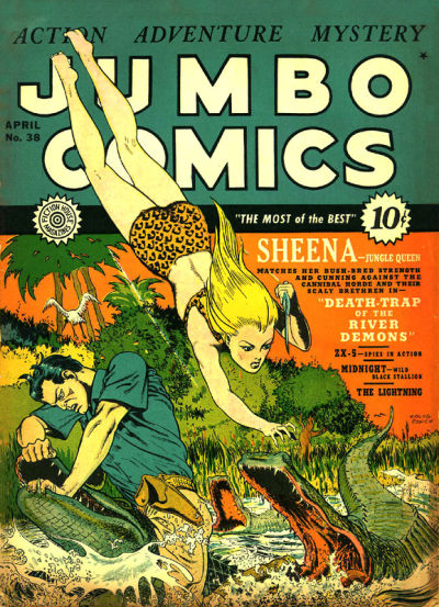 Cover for Jumbo Comics (1938 series) #38