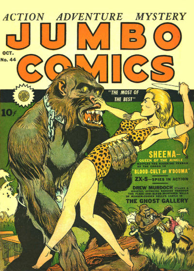 Cover for Jumbo Comics (1938 series) #44