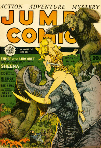 Cover for Jumbo Comics (1938 series) #49