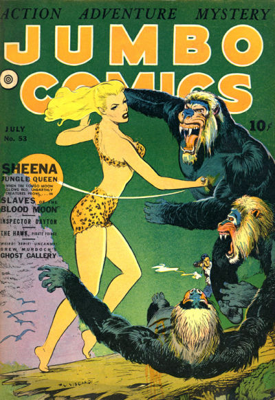 Cover for Jumbo Comics (Fiction House, 1938 series) #53
