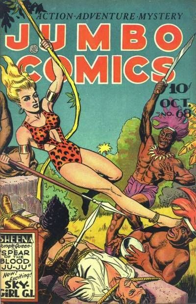Cover for Jumbo Comics (1938 series) #68