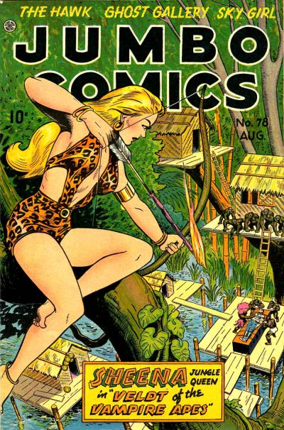 Cover for Jumbo Comics (Fiction House, 1938 series) #78