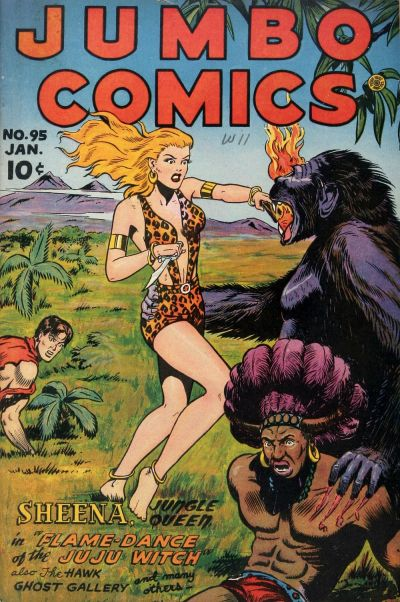 Cover for Jumbo Comics (Fiction House, 1938 series) #95