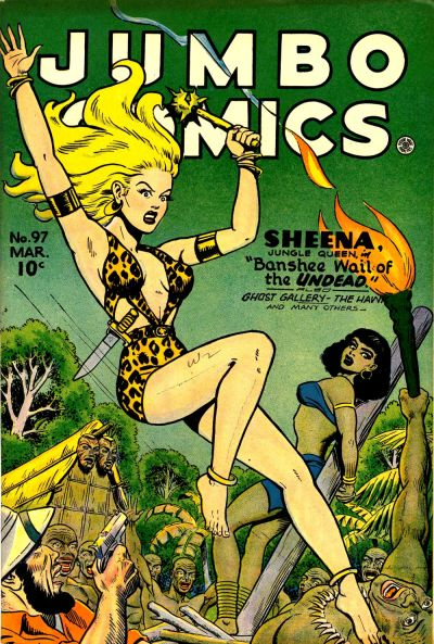 Cover for Jumbo Comics (Fiction House, 1938 series) #97