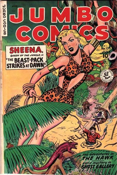 Cover for Jumbo Comics (Fiction House, 1938 series) #125