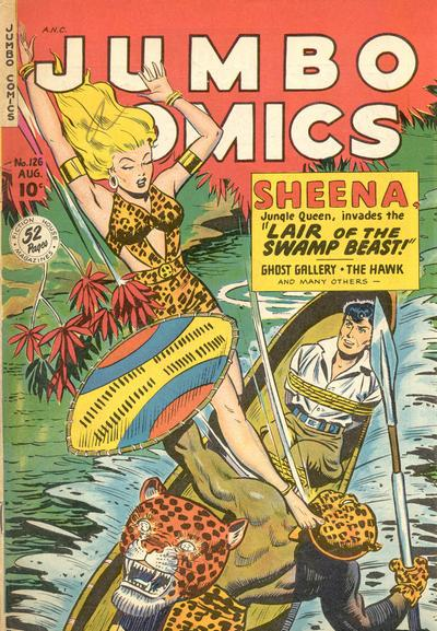 Cover for Jumbo Comics (Fiction House, 1938 series) #126