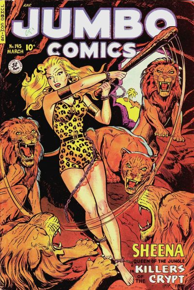 Cover for Jumbo Comics (Fiction House, 1938 series) #145