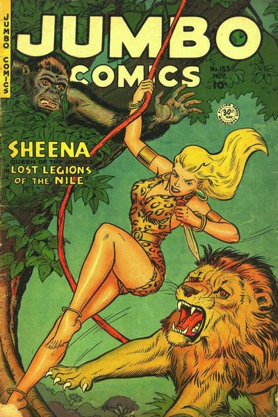 Cover for Jumbo Comics (1938 series) #153