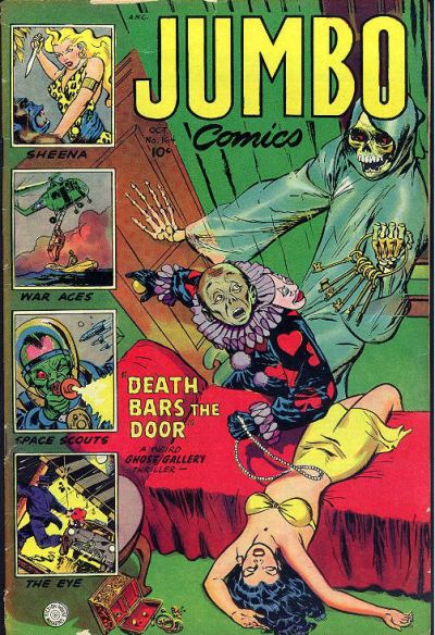 Cover for Jumbo Comics (Fiction House, 1938 series) #164