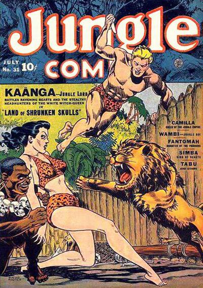 Cover for Jungle Comics (Fiction House, 1940 series) #31