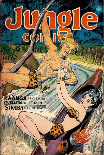 Cover for Jungle Comics (Fiction House, 1940 series) #59
