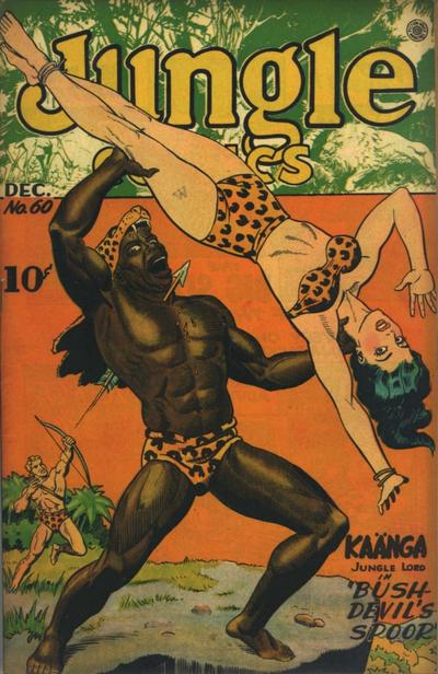 Cover for Jungle Comics (Fiction House, 1940 series) #60