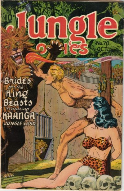 Cover for Jungle Comics (Fiction House, 1940 series) #70
