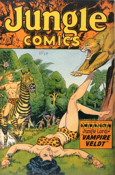 Cover for Jungle Comics (Fiction House, 1940 series) #83