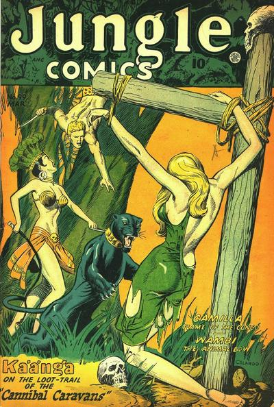 Cover for Jungle Comics (Fiction House, 1940 series) #99