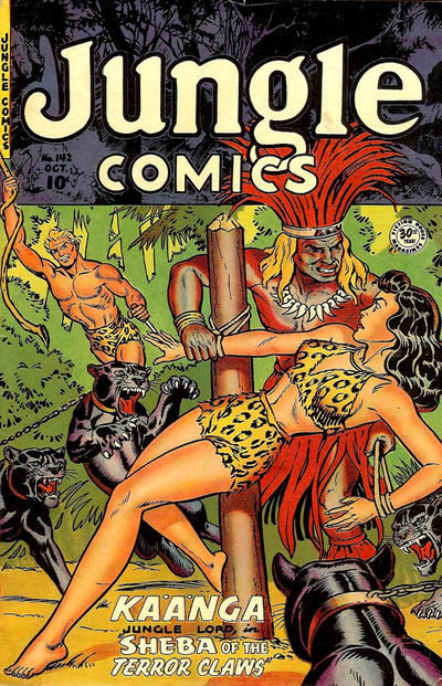 Cover for Jungle Comics (Fiction House, 1940 series) #142