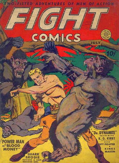 Cover for Fight Comics (Fiction House, 1940 series) #7