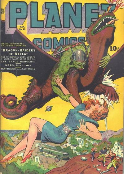 Cover for Planet Comics (Fiction House, 1940 series) #29