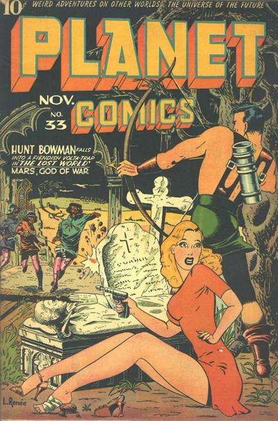 Cover for Planet Comics (Fiction House, 1940 series) #33