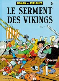 Cover Thumbnail for Johan et Pirlouit (Dupuis, 1954 series) #5 - Le serment des vikings