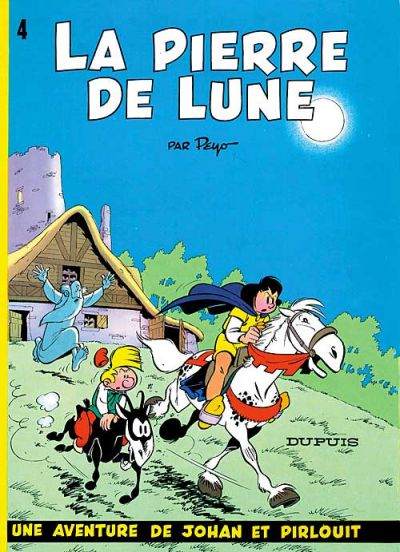 Cover for Johan et Pirlouit (Dupuis, 1954 series) #4 - La pierre de lune