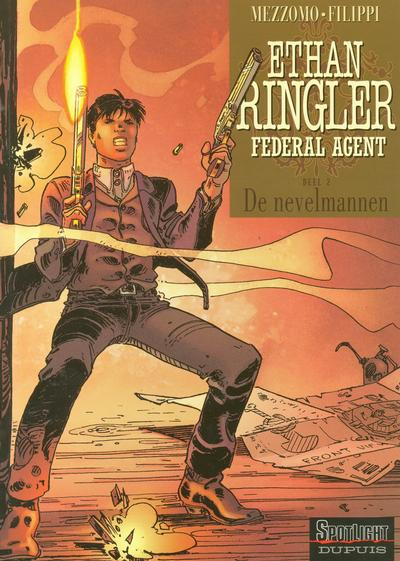 Cover for Ethan Ringler Federal Agent (2004 series) #2