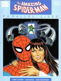 "Cover Thumbnail for Marvel Graphic Novel: The Amazing Spider-Man ""Parallel Lives"" (Marvel, 1989 series)  [8.95 Cover Price variant]"