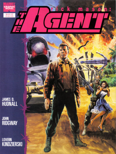 Cover for Marvel Graphic Novel: Rick Mason, the Agent (1989 series) #[nn]