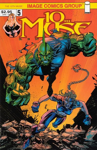 Cover for 10th Muse (Image, 2000 series) #5