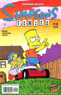 Cover Thumbnail for Simpsons Comics (Bongo, 1993 series) #140