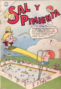 Cover Thumbnail for Sal y Pimienta (Editorial Novaro, 1964 series) #1