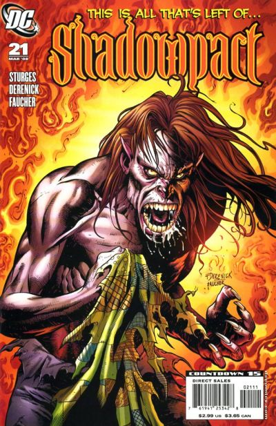 Cover for Shadowpact (2006 series) #21