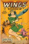 Cover for Wings Comics (Fiction House, 1940 series) #90
