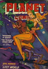 Cover Thumbnail for Planet Comics (Fiction House, 1940 series) #66
