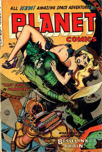 Cover Thumbnail for Planet Comics (Fiction House, 1940 series) #72