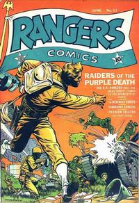 Cover Thumbnail for Rangers Comics (Fiction House, 1942 series) #11