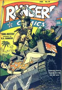 Cover Thumbnail for Rangers Comics (Fiction House, 1942 series) #15