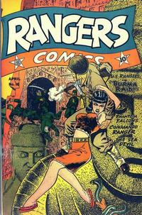 Cover Thumbnail for Rangers Comics (Fiction House, 1942 series) #16