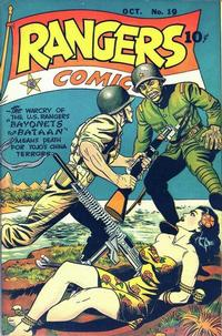 Cover Thumbnail for Rangers Comics (Fiction House, 1942 series) #19