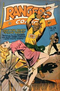Cover Thumbnail for Rangers Comics (Fiction House, 1942 series) #25