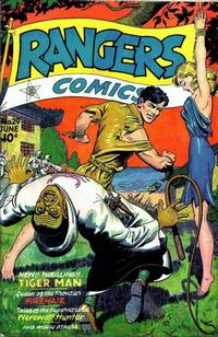 Cover Thumbnail for Rangers Comics (Fiction House, 1942 series) #29