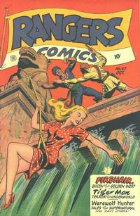Cover Thumbnail for Rangers Comics (Fiction House, 1942 series) #37