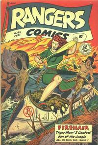 Cover Thumbnail for Rangers Comics (Fiction House, 1942 series) #45