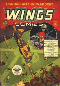 Cover Thumbnail for Wings Comics (Fiction House, 1940 series) #2