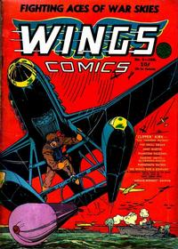 Cover Thumbnail for Wings Comics (Fiction House, 1940 series) #5