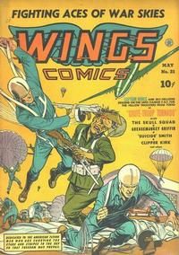 Cover Thumbnail for Wings Comics (Fiction House, 1940 series) #21