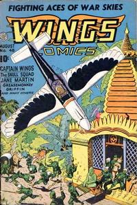 Cover Thumbnail for Wings Comics (Fiction House, 1940 series) #48